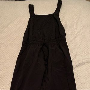 XS- Black Overall Jumpsuit